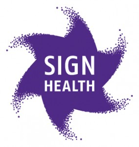 SignHealth star logo